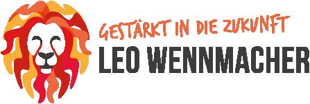 Logo Leo Wennmacher - gestärkt in die Zukunft
